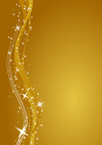 Fototapety gold merry christmas background