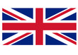 Union Jack - UK flag vector illustration