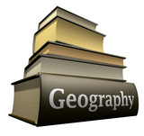 Education books - geography poster