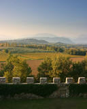 View from Arcano castle near Udine, Italy - 10021351