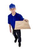 Postman Delivering Mail poster