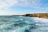 Fototapety Le ciel est bleu, la mer est verte