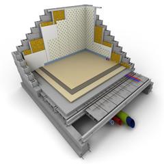 Cube techno chambre
