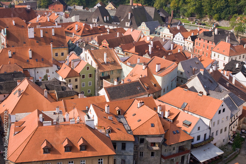 czech historical town Cesky Krumlov enlisted in UNESCO