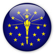 Indiana State Flag Button