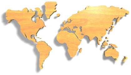 mondo di legno
