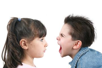litigio tra bambini