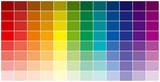 Fototapety la palette des couleurs
