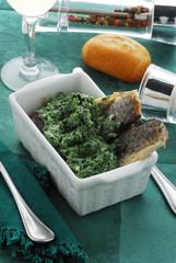 Filetti di trota con spinaci - Secondi di pesce Lombardia