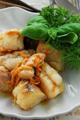 Coda di rospo all arancia - Secondo di pesce - Ricetta Veneto