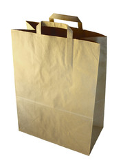 blank paper-bag