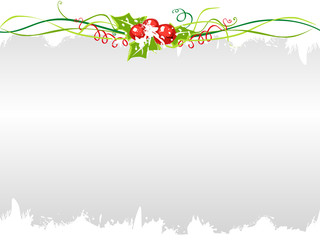 holly berries background