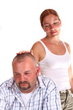 Relationship difficulties between woman and man poster