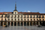 Plaza Mayor (Main Square) in Leon, Castilla y Leon, Spain poster