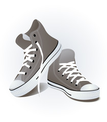 Shoes, vector illustration