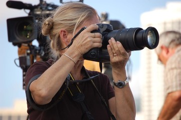 Lady Photojournalist