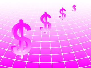 business background dollar