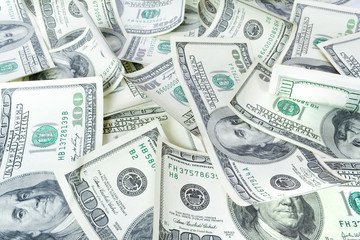a lot of dollars. money background