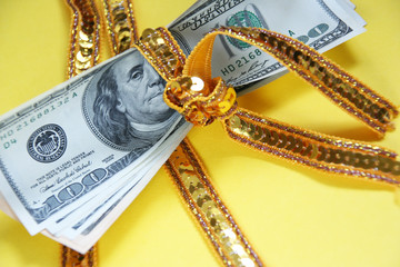 It is a lot of money tied up by a ribbon