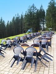 terrasse panoramique....l'étendue du krach