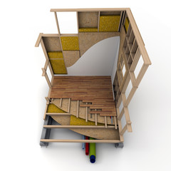 Cube techno maison bois 02