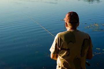 Morning fisherman.