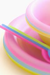 Children's picnic utensils