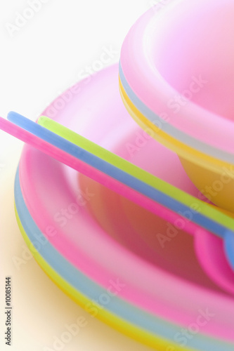 Children's picnic utensils