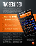 Calculator Brochure poster