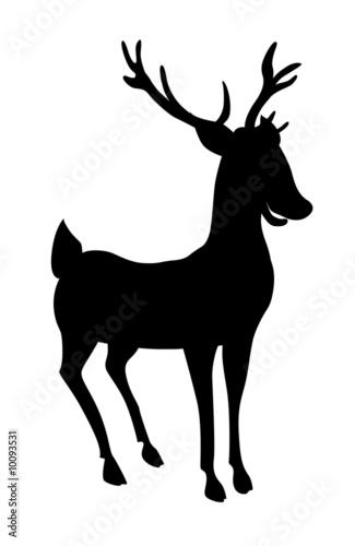 renne du p re no l photo libre de droits sur la banque d 39 images image 10093531. Black Bedroom Furniture Sets. Home Design Ideas