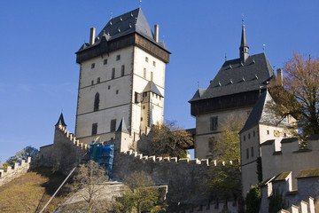 Karlstejn Castle in Czech Republic ....
