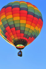 really colorful hot air balloon
