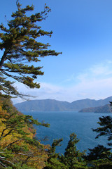 Chuzenji lake, Nikko, Japan