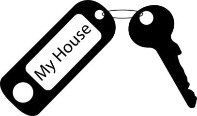 Schlüssel zum Haus