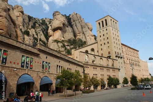 Kloster Montserrat in Spanien