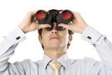vision jumelle regarder anticiper observer voir espionner antici poster