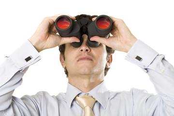 vision jumelle regarder anticiper observer voir espionner antici