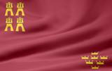 Flagge von Murcia poster