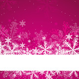 Fototapety pink christmas background