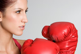 Fototapety Angry Boxing Teen