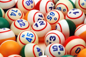 Bingo Ball Background