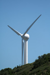 transformation du vent en énergie éléctrique