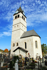 Church of our lady (liebfrauenkirche) - Kitzbuhel Austria
