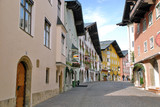 Kitzbuhel center city streets - Austria