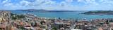 Bosphorus panoramic view from Galata tower, Istanbul, Turkey - 10140729