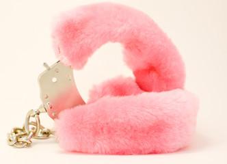 Pink handcuffs