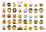 Fototapety emoticons collection