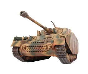 Model of Pz-IV tank