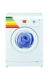 Washing machine energy saving scale