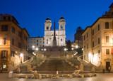 Fototapety Trinità dei Monti, Roma